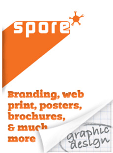 spore graphic design new plymouth